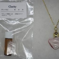 ハート型(クリアピンク)